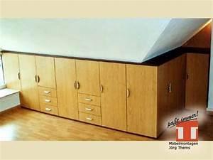 Möbel Für Dachgeschoss : m bel f r flur diele von m belmontagen j rg thems aus chemnitz ~ Sanjose-hotels-ca.com Haus und Dekorationen