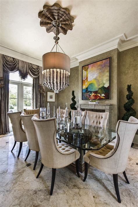 Beautiful Dining Room Chairs by These Posh Chairs Home Decor Luxury Dining