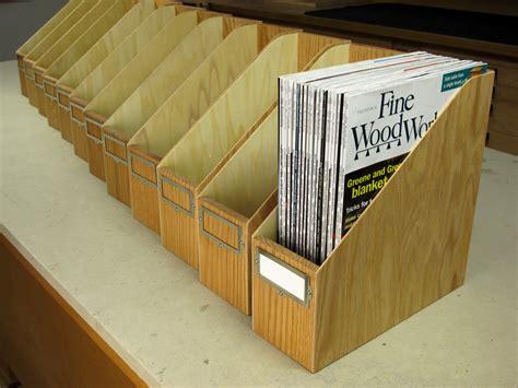 Zeitschriften Aufbewahrung by Make Your Own Magazine Storage Box Woodworking Gift Ideas