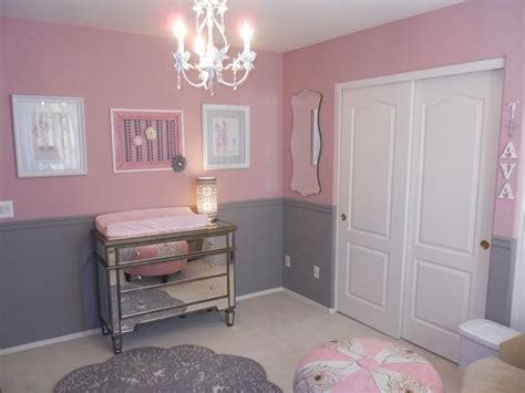 Zimmer Rosa Grau by These Colors Together But One Wall Pink And The Others