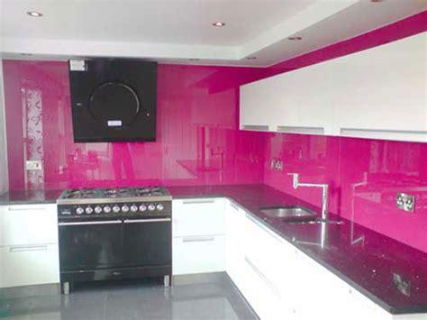 pink tiles kitchen splashbacks klg glass 1504