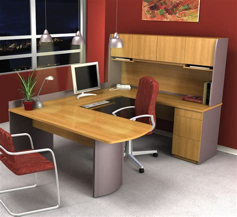 small u shaped desk bestar executive u shaped desk