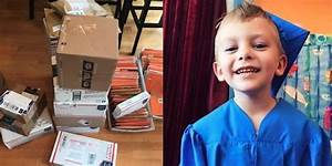 Boy With Rare Cancer Only Asks For Halloween Cards And He ...