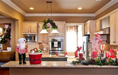 inexpensive ways  decorate  kitchen   holidays