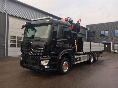 Mercedes Arocs by Used Mercedes Arocs 2540l Crane Trucks Year 2018 For