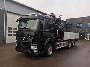Mercedes Benz Arocs : used mercedes benz arocs 2540l crane trucks year 2018 for ~ Jslefanu.com Haus und Dekorationen