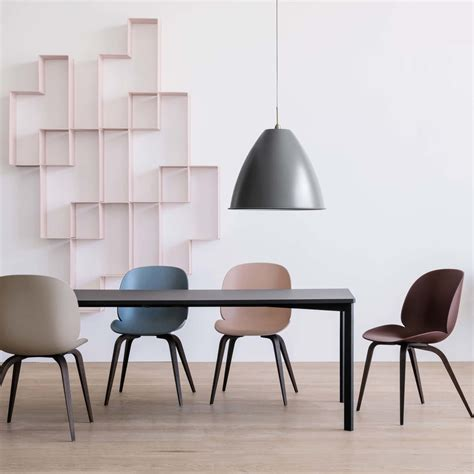 unique kitchen furniture beetle dining chair by gubi