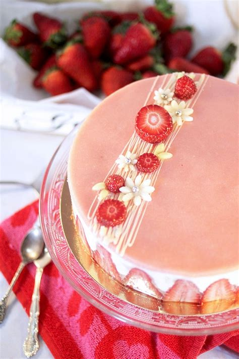 recette de fraisier p 226 tissier la recette facile