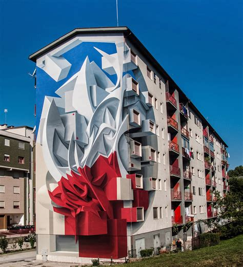 Abstract Shapes Architecture by Abstract Shapes And Graffiti Inspired Swirls Leap The