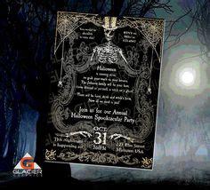 printable halloween invitation templates printable