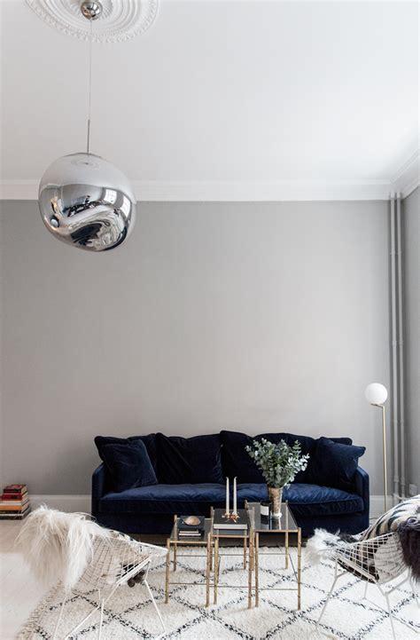 furniture trendy blue velvet couch design  inspired