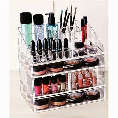 1000 id 233 es 224 propos de rangement maquillage acrylique sur