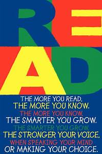 The More You Read Poster And Bookmarks