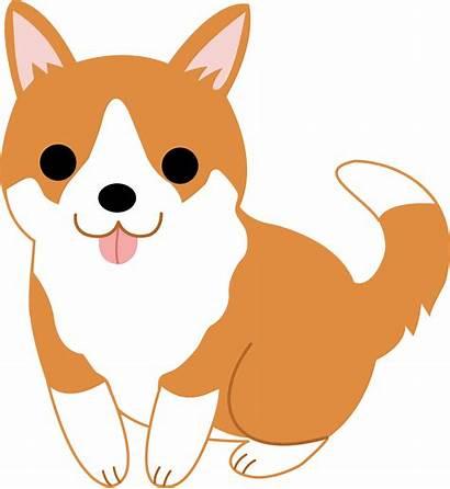 Clip Dog Clipart Puppy Panda Corgi