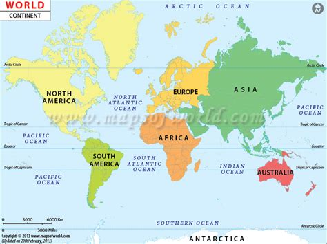 continents   world map  continents