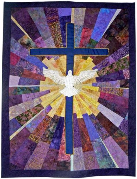 The Cross Religious Quilt Patterns