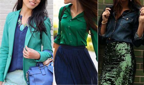 Как сочетать зеленый цвет в одежде