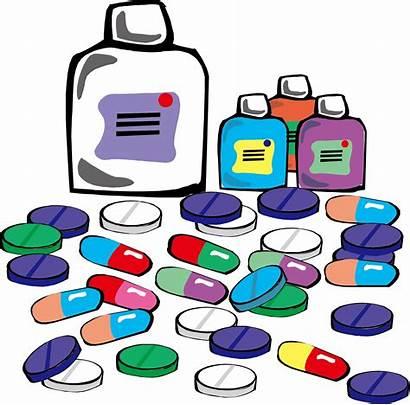 Medicine Clipart Drug Tablet Pills Prescription Cartoon
