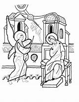 Coloring Blessing Irish Sophia Empress Hagia God Isles sketch template