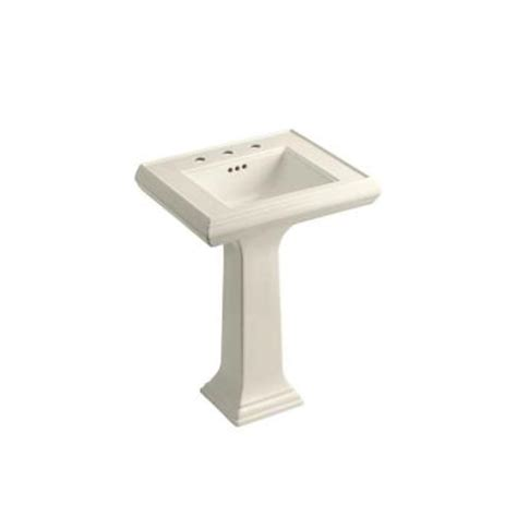 Memoirs Pedestal Sink Kohler by Kohler Memoirs Ceramic Pedestal Combo Bathroom Sink In