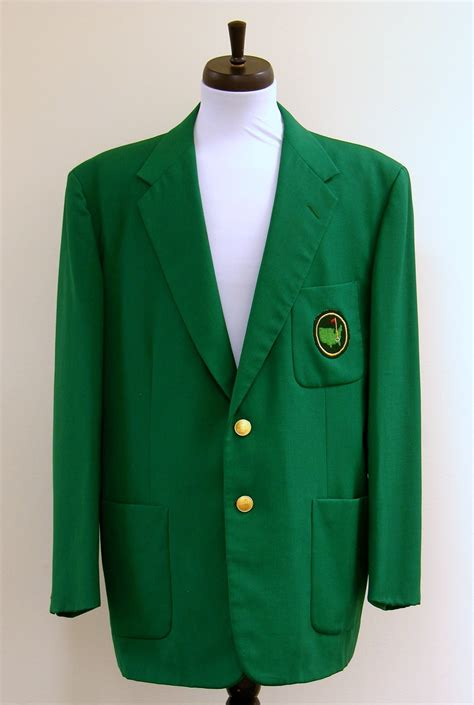 Masters green jacket found in thrift store sold at auction