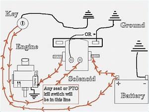 Starter Solenoid Wiring Diagram For Lawn Mower  U2013 Vivresaville Com