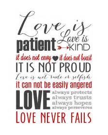 Love Is Patient Subway Art