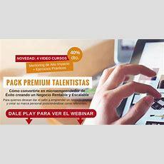 Webinar Talentistas  Portal Del Coaching