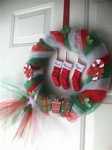 Best Christmas DIY Door Decorations Pink Lover