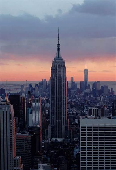 State Empire Nyc York Manhattan Building Rock