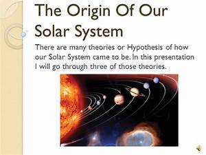 Solar System Project 1  For Science Working On The Final