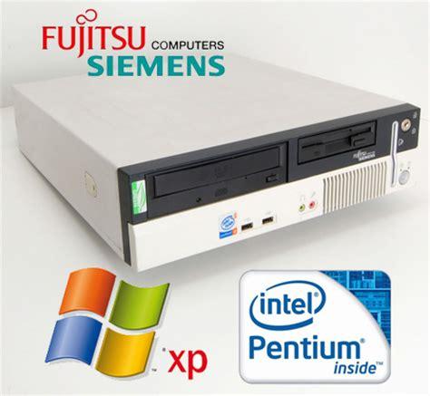 fujitsu siemens pc bureau fujitsu siemens scenic e600 p4 ht 2 8ghz small desktop pc