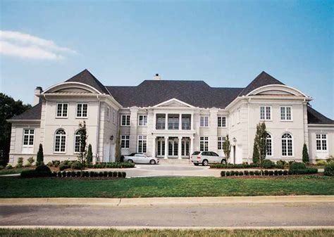 neoclassical house plans floor plans aflfpw00045 2 story neoclassical house plans home with 5 bedrooms 5 bathrooms and
