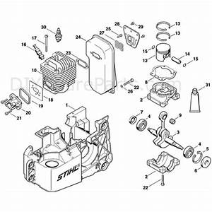 Stihl Ts 460 Disc Cutter  Ts 460  Parts Diagram  A