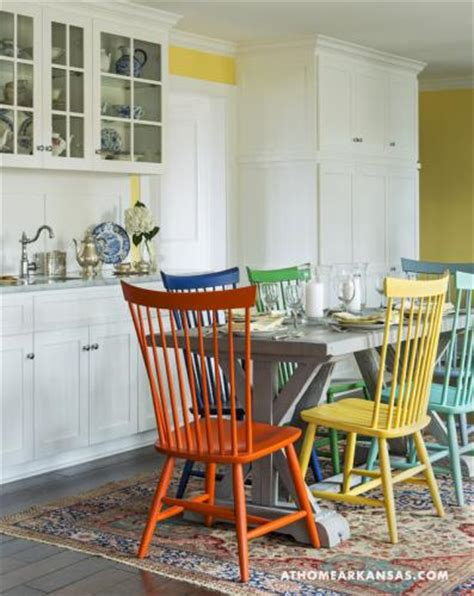 colored kitchen chairs 6 hues interiors by color 2327
