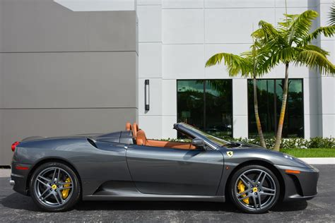 2008 F430 Spider by Used 2008 F430 Spider For Sale 127 900 Marino