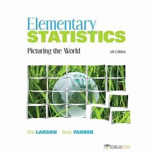 Test Bank For Elementary Statistics  Picturing The World