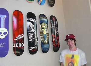 Gallery: Hang Skateboard Deck On Wall,
