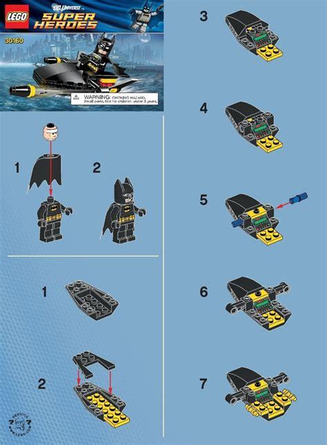 Lego Batman Boat Instructions by Lego Batman Jetski Instructions 30160 Dc Comics Super Heroes