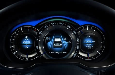 Cars With Digital Dashboards by Dashboard Dials In The Nissan Invitation Concept