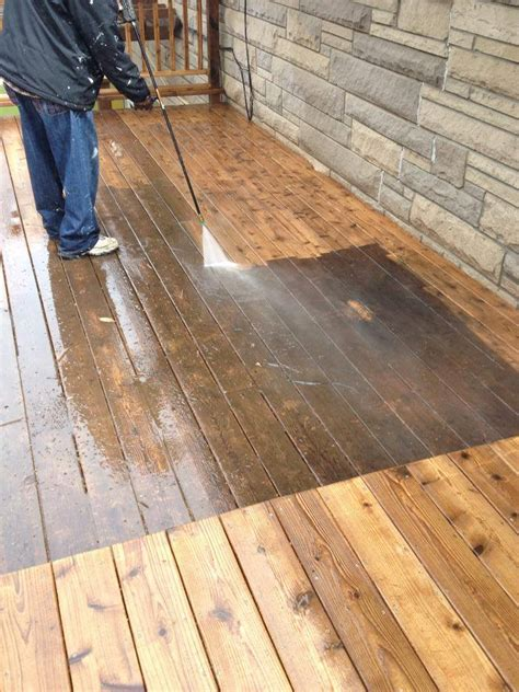 Deck Pressure Cleaning And Sealing » D & J Carpet & Tile