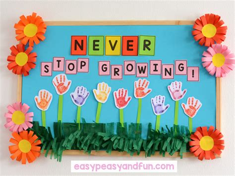 bulletin board ideas for your classroom easy 997 | Never Stop Growing Bulletin Board