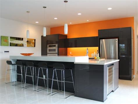 modern kitchen color ideas orange paint colors for kitchens pictures ideas from 7671