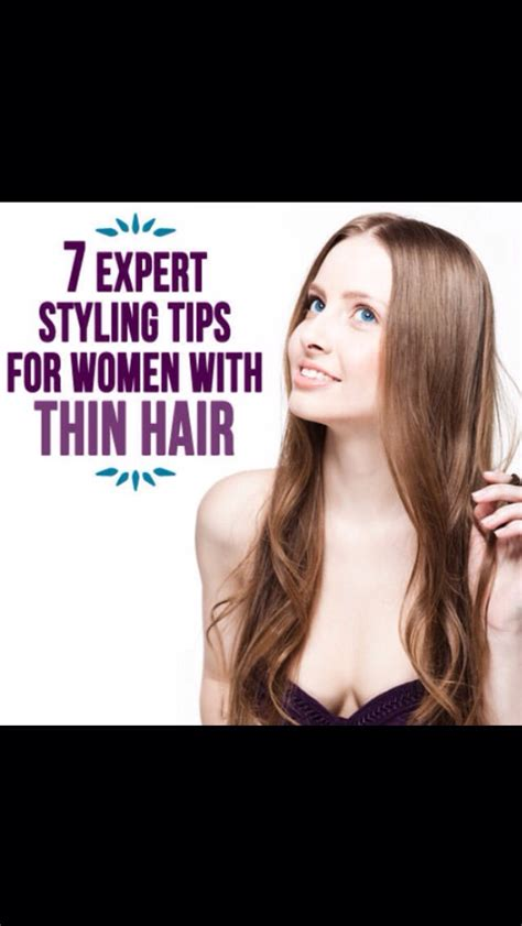 styling tips for thin hair musely 4446