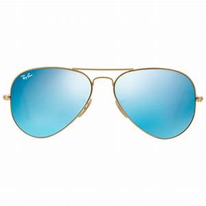 Ray-ban Rb3025 Aviator Sunglasses in Blue for Men | Lyst