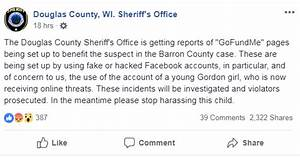 Sheriff warns of scam fundraiser for alleged Closs killer ...
