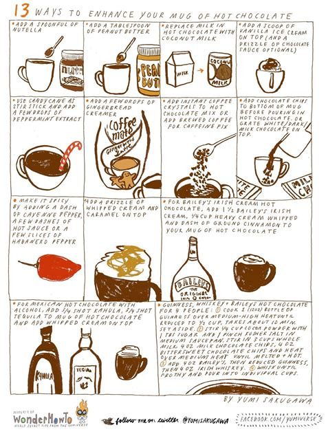 how to make chocolate 13 ways to make hot chocolate even better than it already is 171 the secret yumiverse wonderhowto