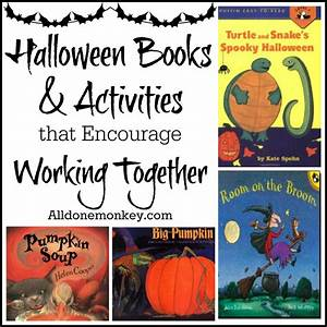 Halloween Books and Activities that Encourage Working Together