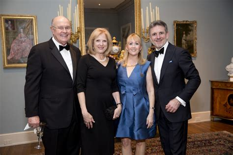Elite Society Gathers At A Stunning River Oaks Manse For
