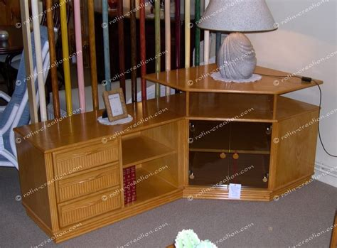 porte de bureau en verre meuble d 39 angle tv hifi colombo avec rangement meuble